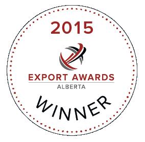 Winner of the 2015 Alberta Food & Beverage Export Award!