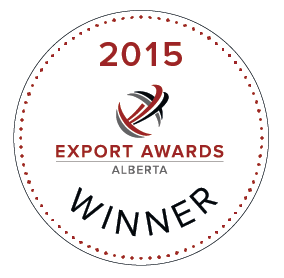 Winner of the 2015 Alberta Food & Beverage Export Award!